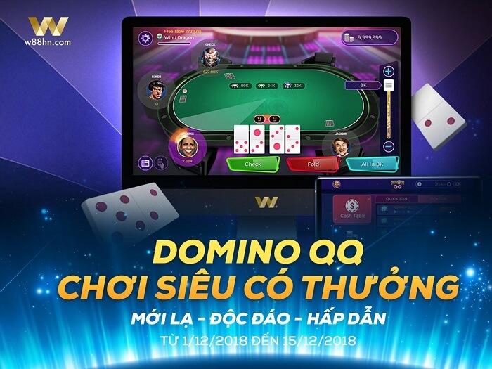 Domino QQ trực tuyến w88