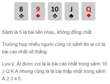 Sảnh trong game bài Poker w88