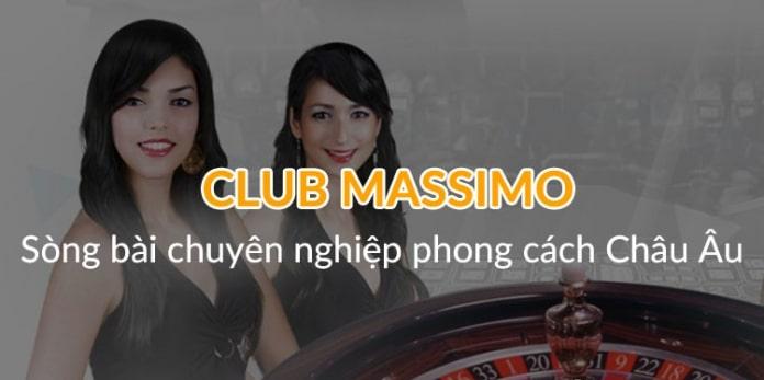 Game sòng bài trực tuyến Club Massimo W88