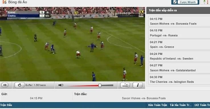 hướng dẫn cá cược chơi bóng đá ảo trực tuyến