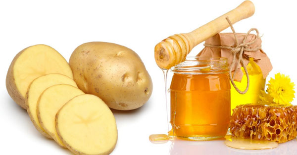 mặt nạ khoai tây mật ong