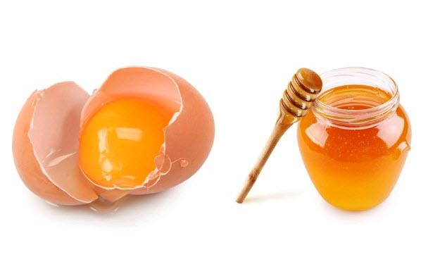 mặt nạ trị mụn mật ong trứng gà
